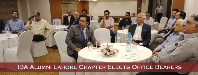 IBA Alumni Lahore Chapter Elects Office Bearers
