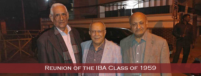 Reunion of the IBA Class of 1959