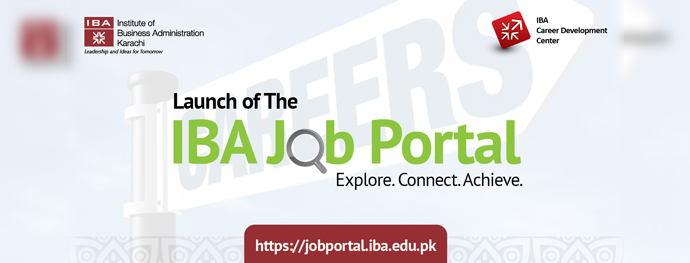 Launch of the IBA Job Portal