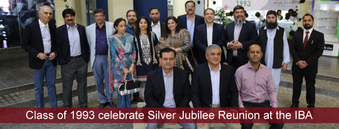 Class of 1993 celebrate Silver Jubilee Reunion at the IBA