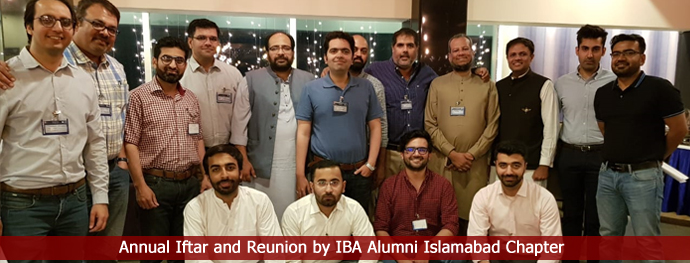 Annual Iftar and Reunion by IBA Alumni Islamabad Chapter
