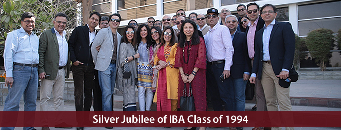 Silver Jubilee of IBA Class of 1994