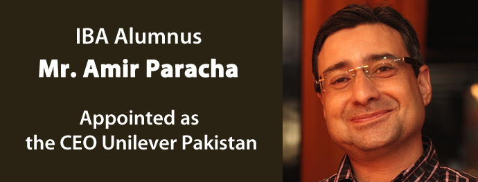 IBA Alumnus Appointed as the CEO Unilever Pakistan